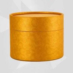 Caja de Cartulina Oro para Dulces