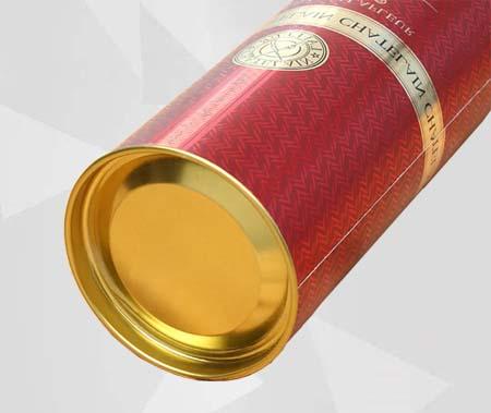 Caja de Vino Tinto de Cartulina