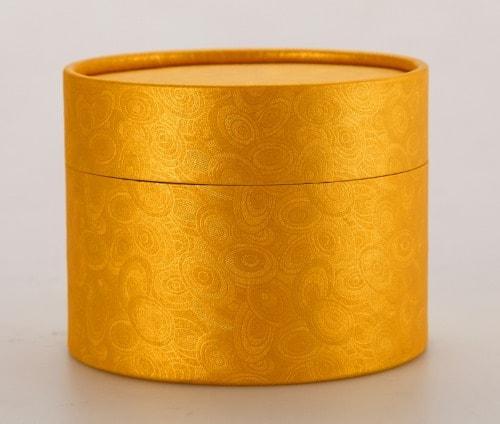 Cajitas para Dulces de Cartulina Oro Texturada