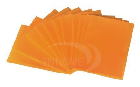 Porta Credenciales de Plástico Cuadradas